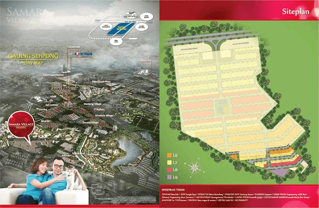 Sammara Village Gading Serpong Paramount Land 6X10