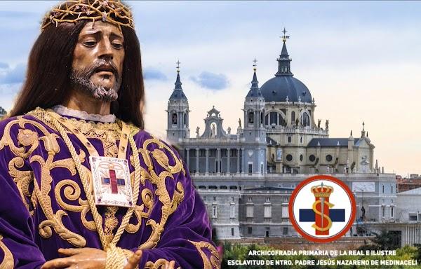 Jesús de Medinaceli de Madrid saldrá en Procesión Extraordinaria