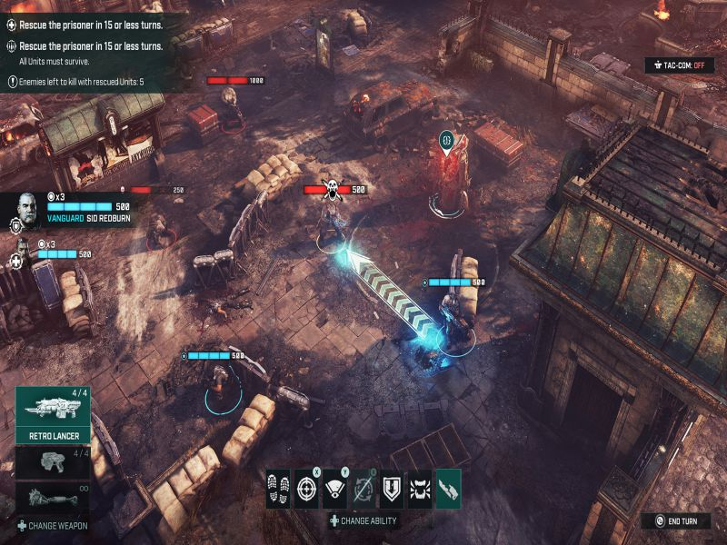 Gears Tactics Highly Compressed Free Download