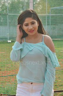 Madhulagna Das looks super cute in White Shorts and Transparent Top 64.JPG