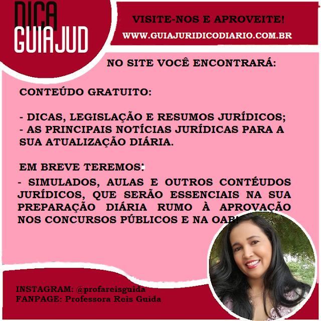 VISITE O NOSSO SITE GUIAJUD - WWW.GUIAJURIDICODIARIO.COM.BR