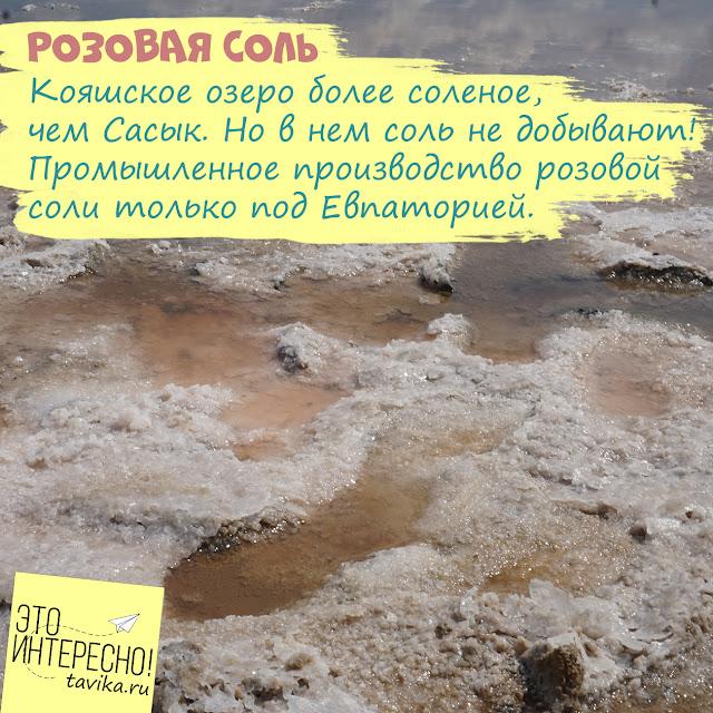 Соль крымских озер