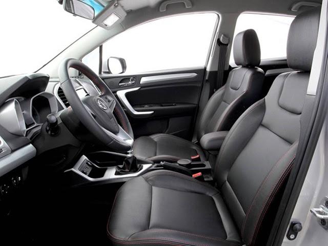 HR-V da JAC - JAC T5 - interior