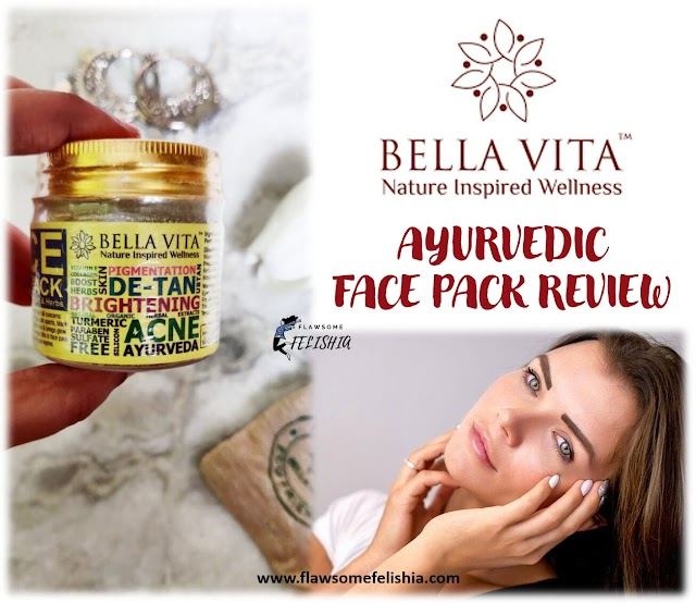 Ayurvedic Face Pack by Bella Vita Organic - Product Review
