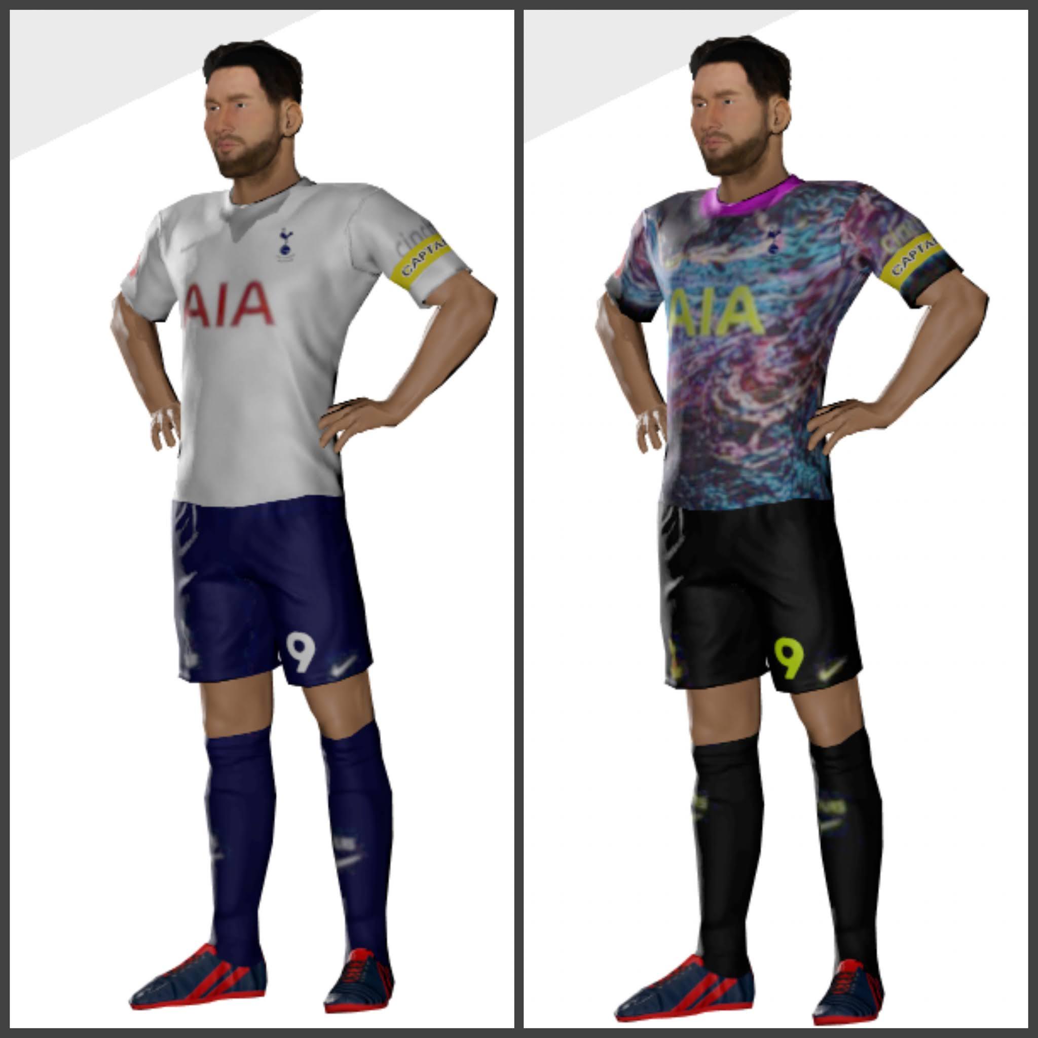 Kits Tottenham Hotspur 2022 Dls