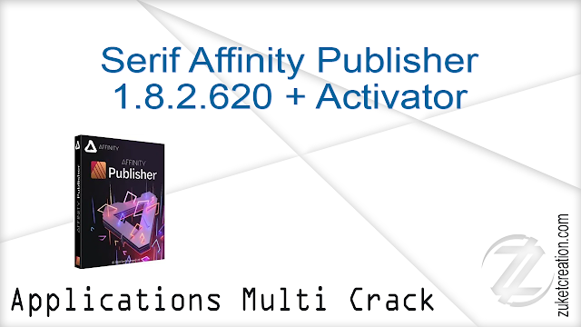 Serif Affinity Publisher 1.8.2.620 + Activator