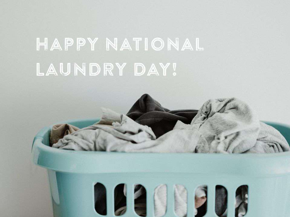 National Laundry Day Wishes