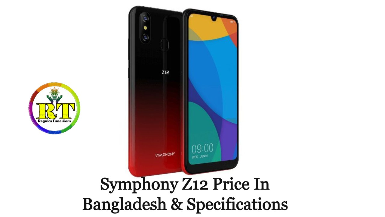 Symphony Z12 Price In Bangladesh & Specifications