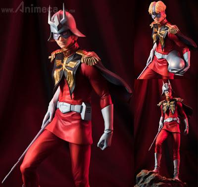 Figura Char Aznable GGG Mobile Suit Gundam