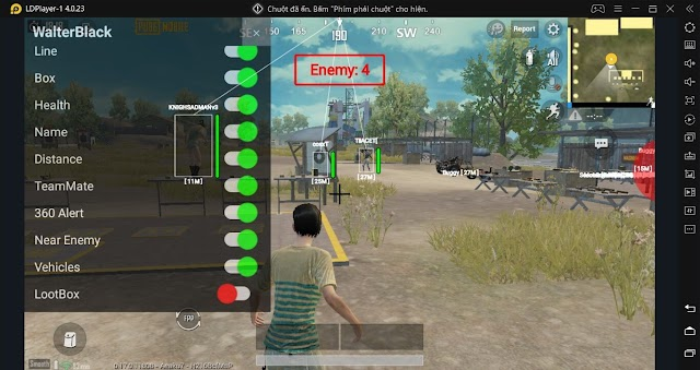 How hackers use ESP on pubg mobile ? or any kinds of mod menu