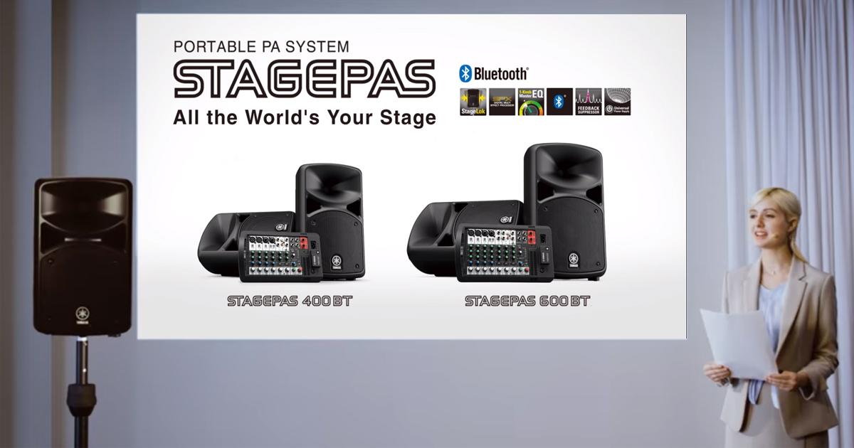 Yamaha STAGEPAS 400BT Bảo hành 12 Tháng Chính Hãng