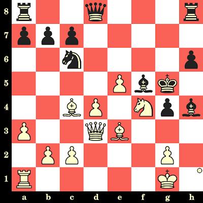 Les Blancs jouent et matent en 4 coups - Geza Maroczy vs G Exner, Budapest, 1894