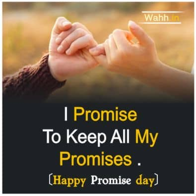Promise Day Facebook Quotes