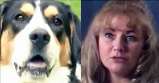 Une mère prend son bain quand son chien lui mord le bras - elle regarde dehors et découvre quelque chose d'effroyable