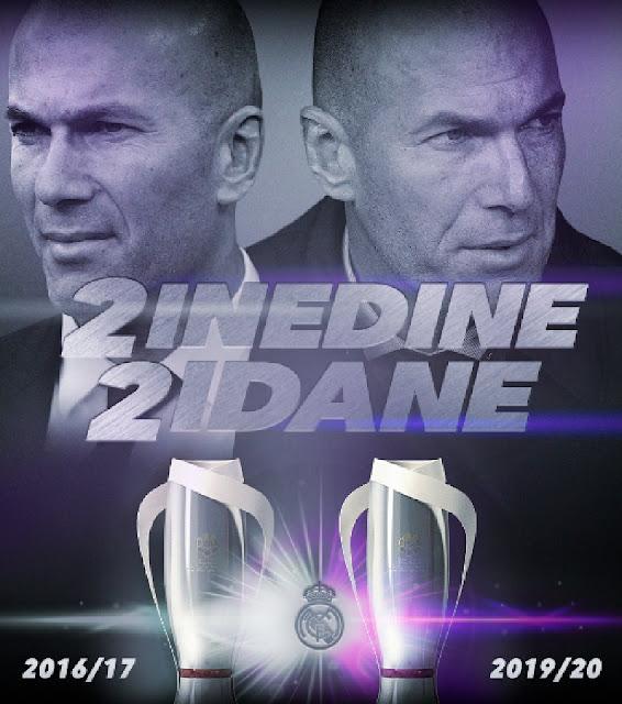 بطولات زيدان مع ريال مدريد فى الليجا