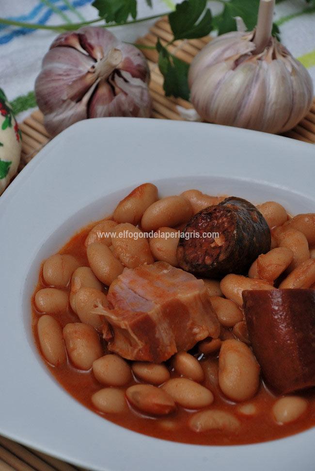 Receta de Fabada asturiana de toda la vida