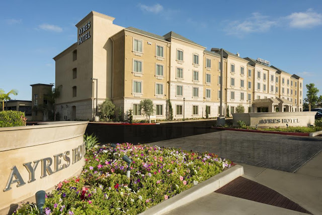 Ayres Hotel in Orange, CA is located two miles from Disneyland and Anaheim Convention Center, providing a convenient base for your Southern California stay.