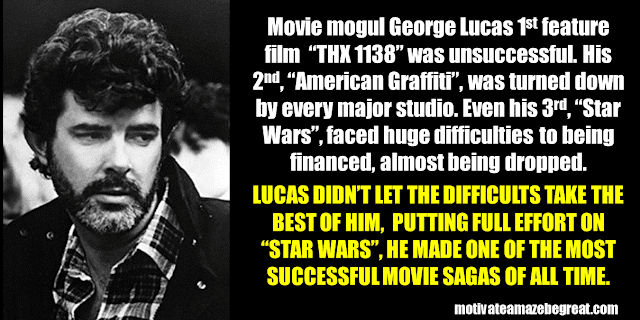 Success Stories From Famous People Who Failed Before Succeeding: George Lucas
