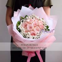 hand bouquet murah, toko bunga online murah, bunga ulang tahun buat pacar