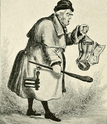 Master Dogberry the Parish Watchman from Social England by HD Traill and JS Saumarez (1901)