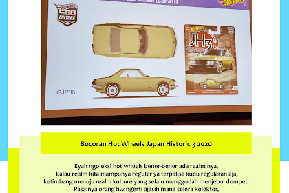 Bocoran Hot Wheels Japan Historic 3 2020