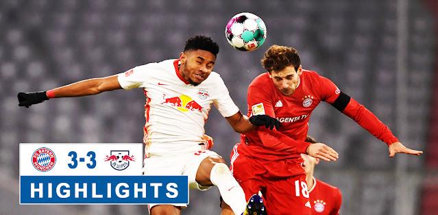Bayern München vs RB Leipzig – Highlights