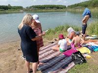 Сотрудники МЧС провели патрулирование в местах массового отдыха людей у воды.