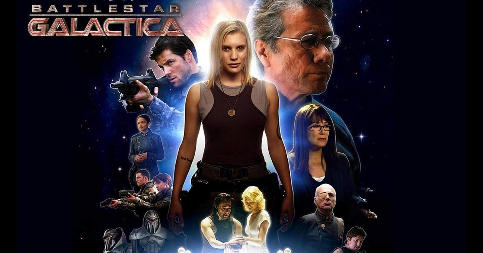 Battlestar Galactica, reboot del 2004