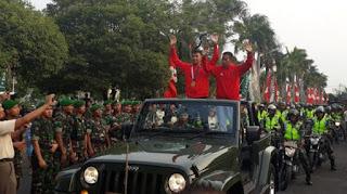 Raih Medali Emas Asian Games 2018, Prajurit TNI Disambut Meriah di Markas Kodam