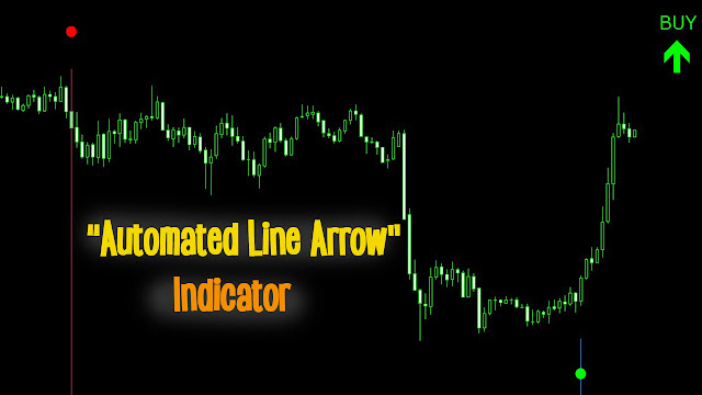 teknik scalping 5 menit line arrow