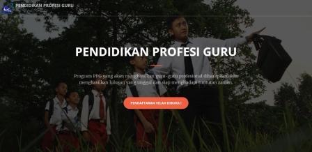 Link Resmi Pendaftaran PPG Online