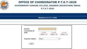 rajasthan ptet result 2020,Rajasthan PTET allotment results 2020,Rajasthan PTET allotment,ptetdcb2020.com,ptet result 2020