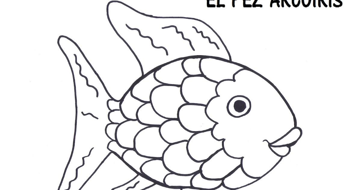 Vistoso Colorear Peces Arcoiris Foto - Dibujos Para Colorear En ...