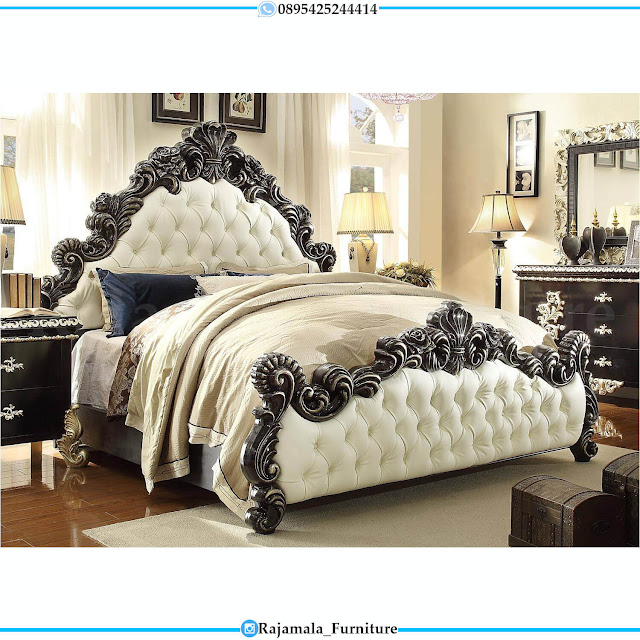 Buy Now Model Dipan Mewah Klasik Luxury Furniture Jepara Terbaru RM-0453