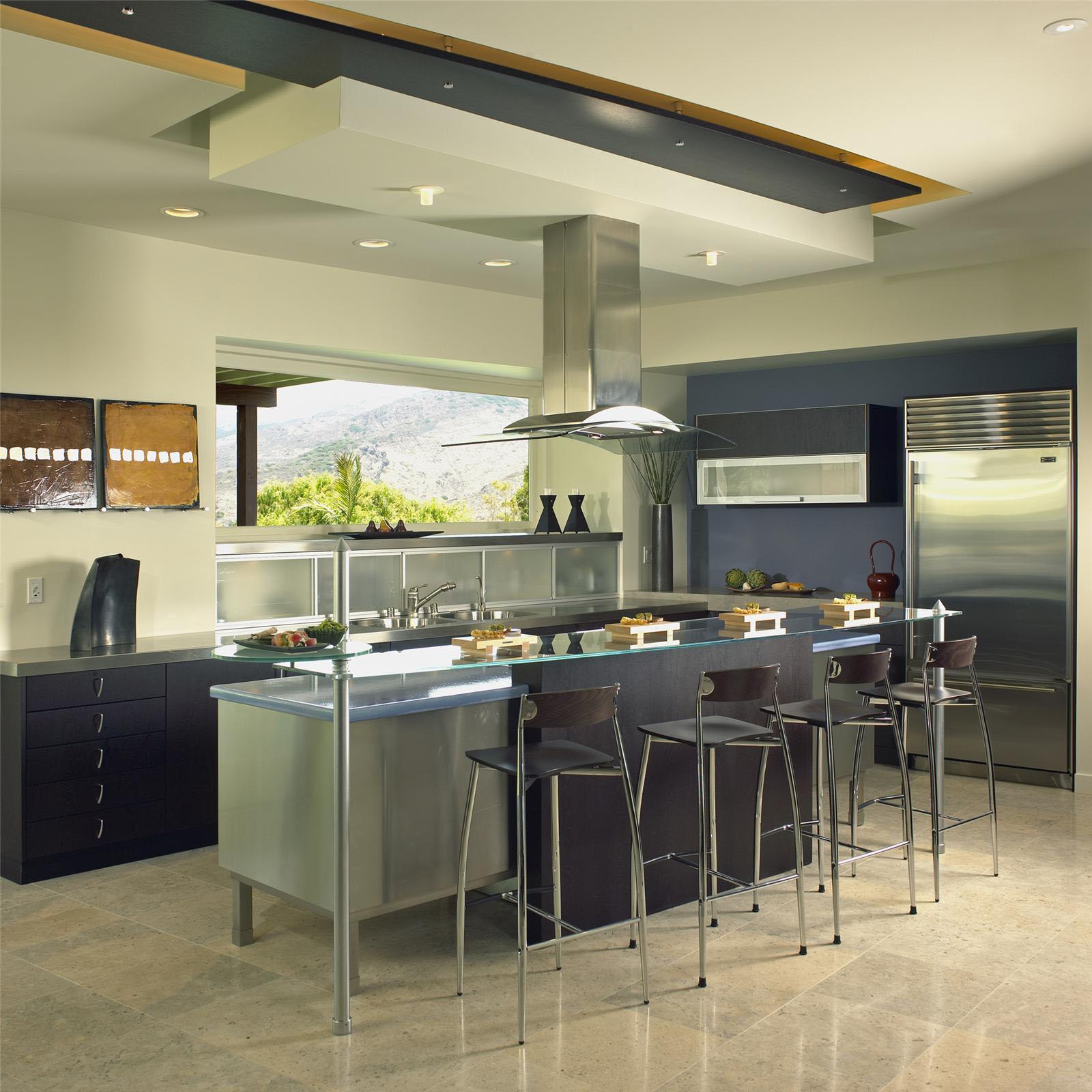 Great Modern Kitchen Design For Small Space Modern: Tips Dalam Mendesain Dapur Terbuka Minimalis