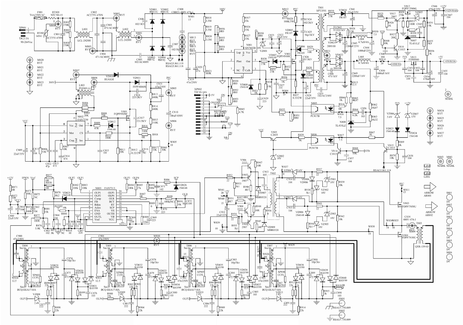 hisense led tv schematic diagram just another wiring diagram bloghisense tlm 26v78k lcd tv power supply [ 1600 x 1123 Pixel ]