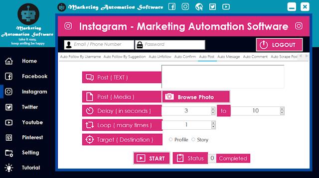 Cara Cepat Membuat Postingan di Timeline Instagram Secara Automatis