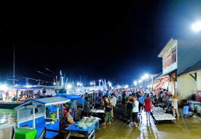 Tempat Pelalangan Ikan Lappa ikan murah di sinjai