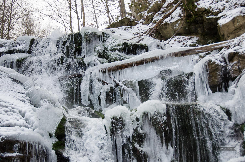 Artem Getman: Путешествия по Украине (7) Пилипец. Водопад Шипот (зима)