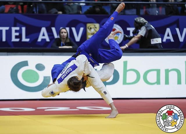 District Krasniqi in the Judo Grand Slam final in Paris, Nora Gjakova fights for bronze medal