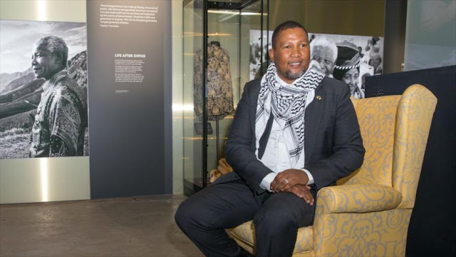 Nieto de Mandela denuncia que Israel impone apartheid a palestinos