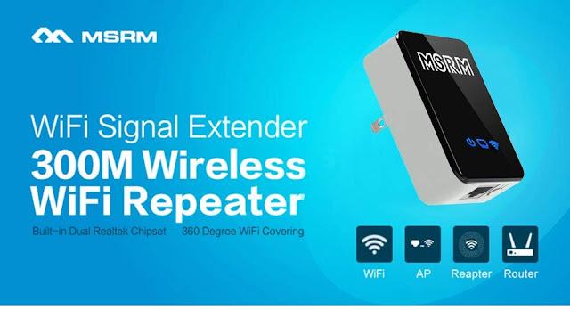 MSRM wifi extender