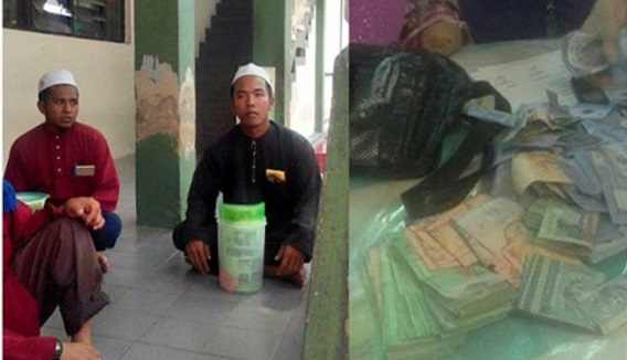 Hati-Hati Pengemis Berpakaian Islamik Minta Derma Di Malaysia Rupanya Orang Myanmar