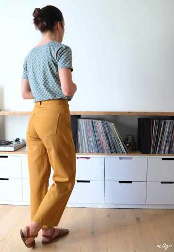 """Le Combo Parfait... (Patrons : """"Jeanne"""" de chez Ready To Sew ; """"Dawn"""" de chez MeganNielsenPatterns) par m Gg++"""