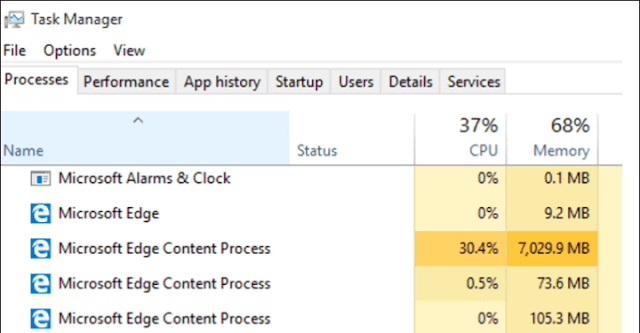 How to Extricate Microsoft Edge Content Process in Windows 10