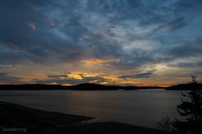 Skagit Bay, Fidalgo Island, Washington, USA