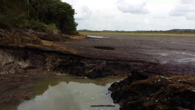 Se seca laguna Chakanbakán en México