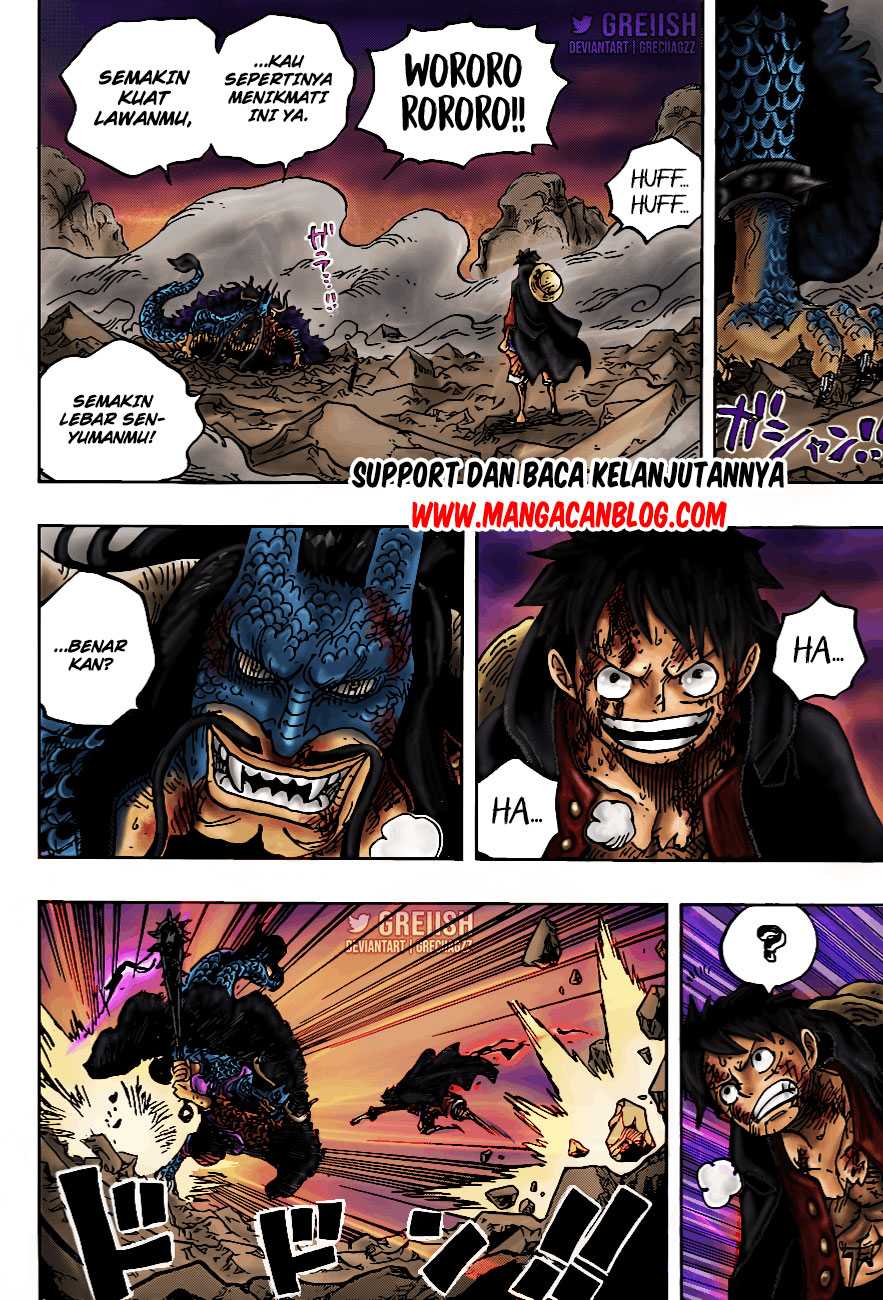 Manga One Piece Chapter 1011 Bahasa Indonesia