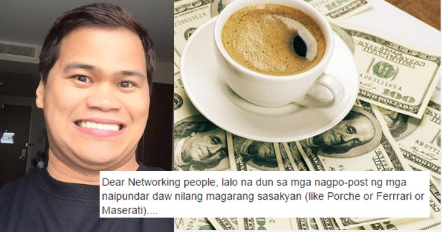 Ogie Diaz Calls on Networking People