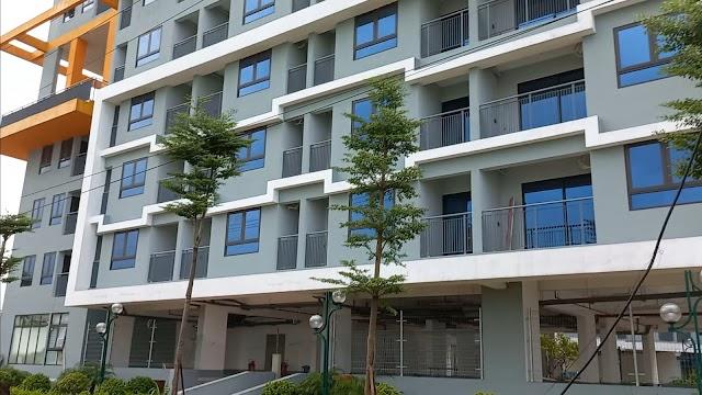 Tiến độ xây dựng dự án nhà ở xã hội CT3 CT4 Kim Chung Đông Anh Thăng Long Green City